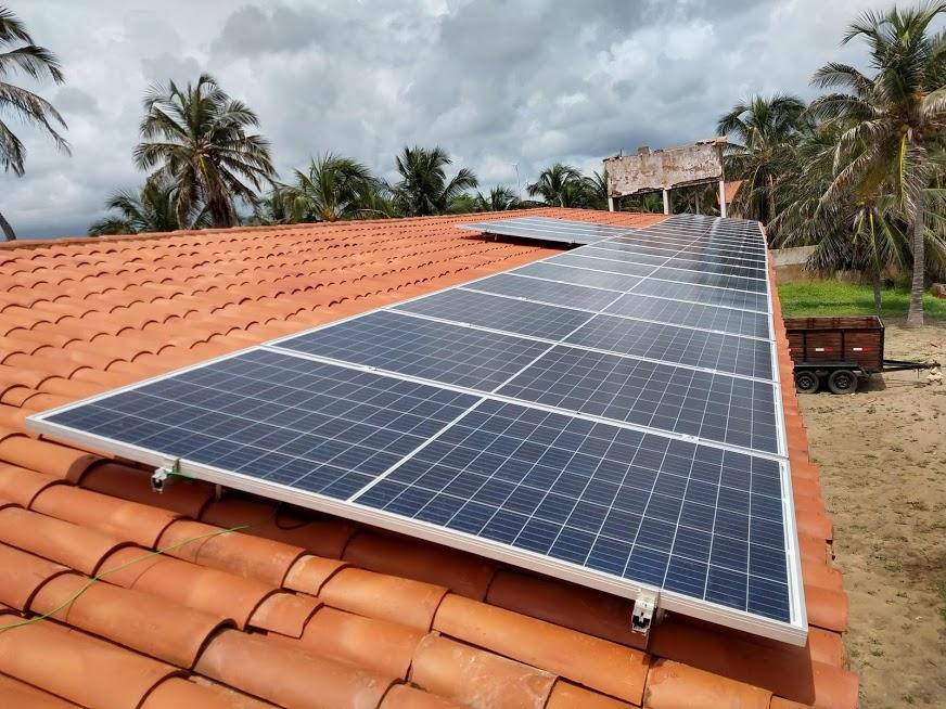 Kit fotovoltaico em Icapuí-CE