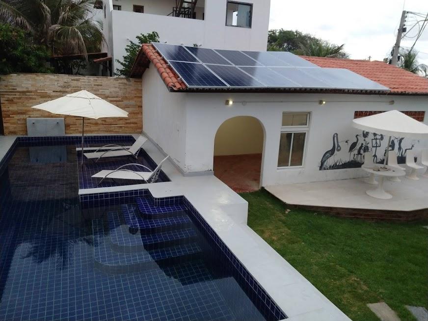 Kit fotovoltaico de 3,74 kwp em Canoa quebrada-CE