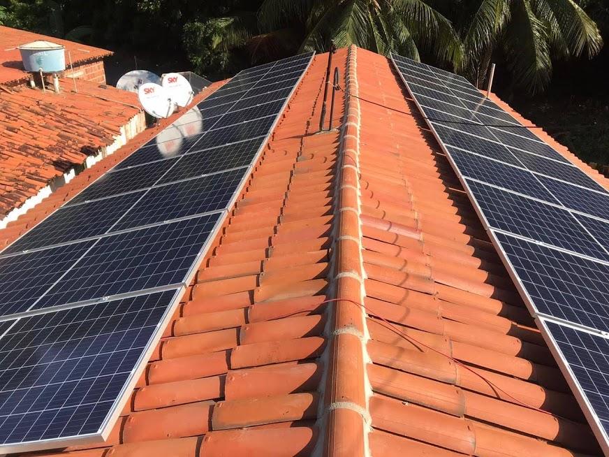 Kit fotovoltaico em Praia Redonda-CE