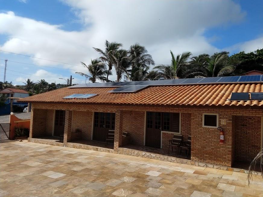 Kit fotovoltaico de 6,12 kwp em Canoa Quebrada-CE